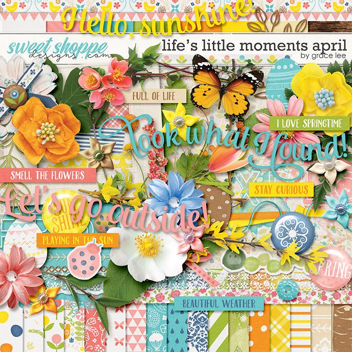Life's Little Moments April by Grace Lee