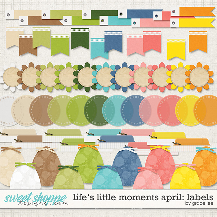 Life's Little Moments April: Labels by Grace Lee