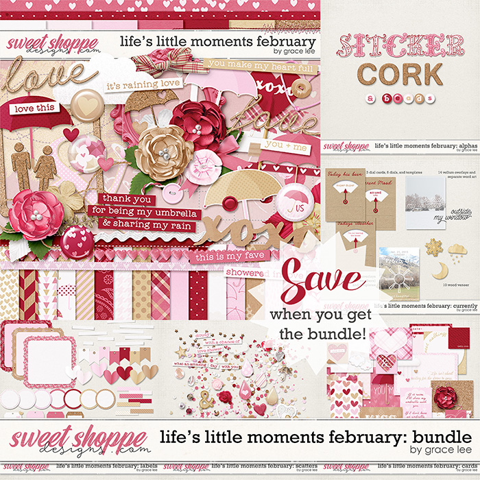 Life's Little Moments February Bundle by Grace Lee