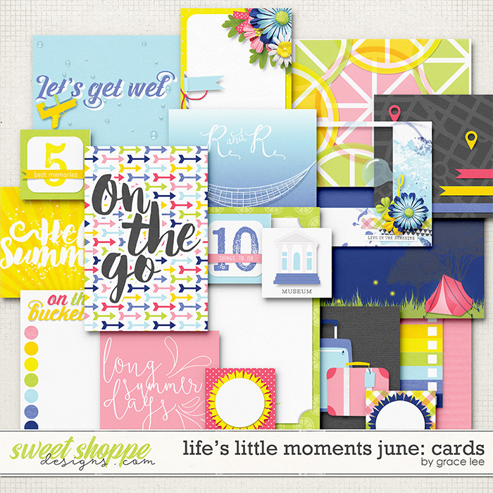 Life's Little Moments June: Cards by Grace Lee