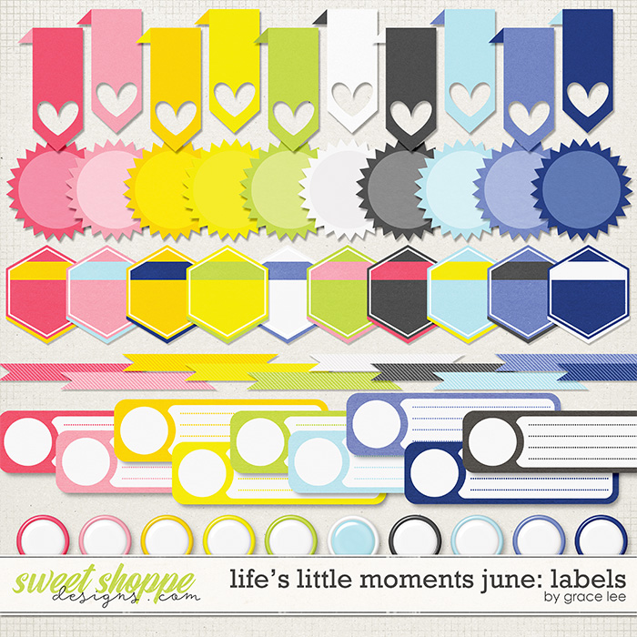 Life's Little Moments June: Labels by Grace Lee
