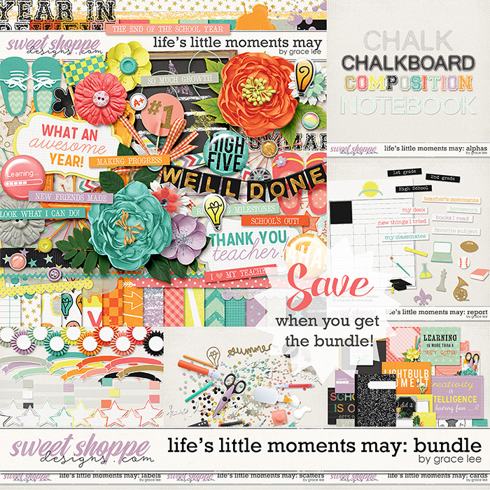 Life's Little Moments May Bundle by Grace Lee