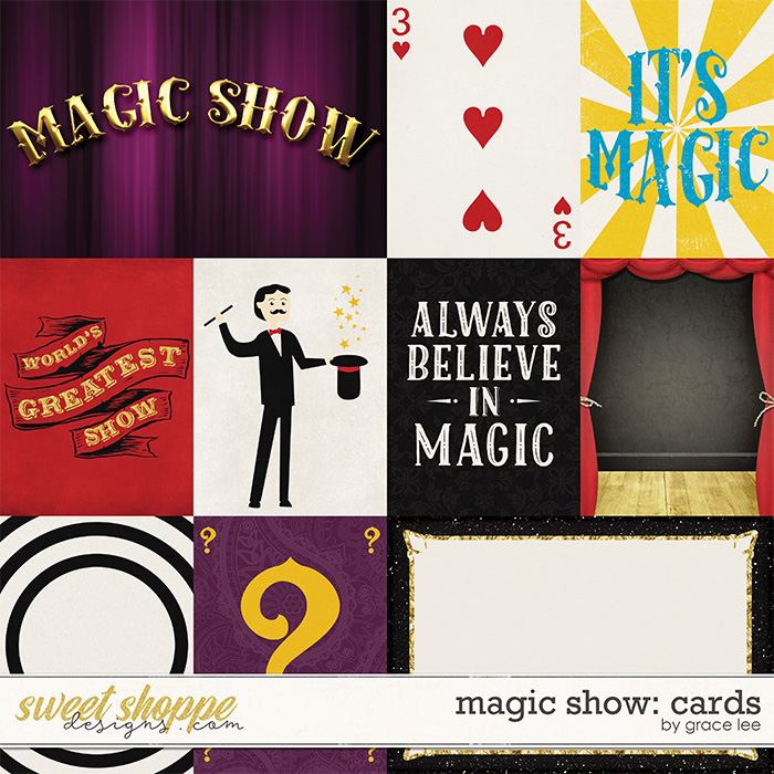 Magic Show: Cards by Grace Lee