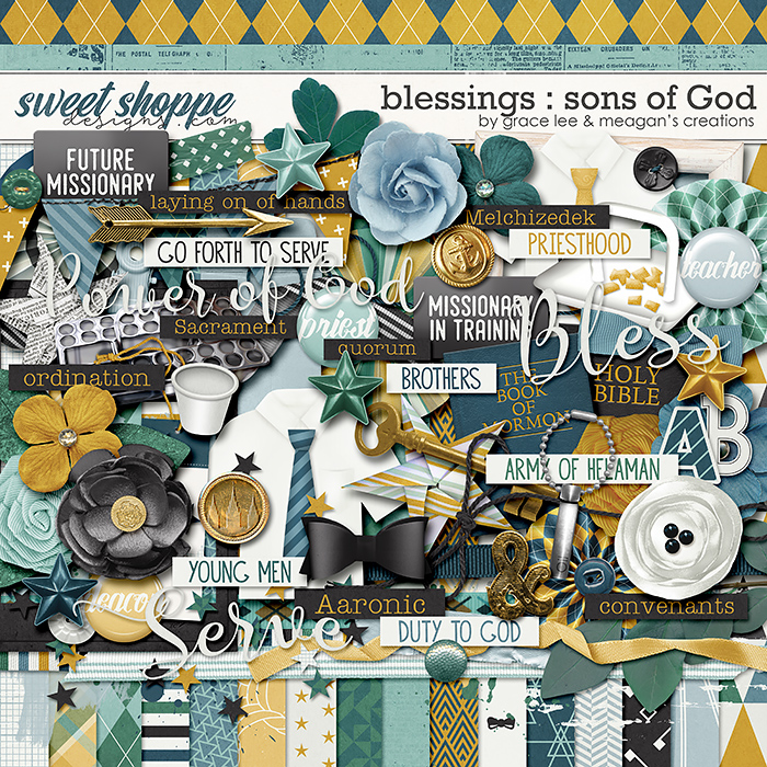 Blessings: Sons of God by Grace Lee and Meagan's Creations