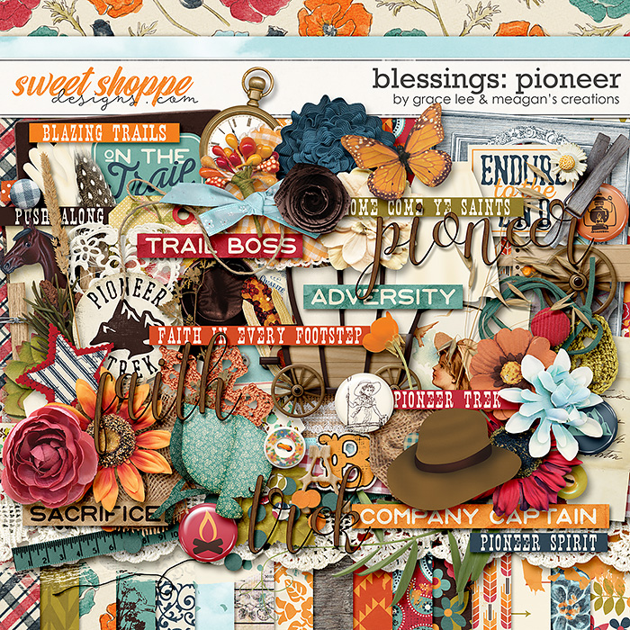 Blessings: Pioneer by Grace Lee and Meagan's Creations