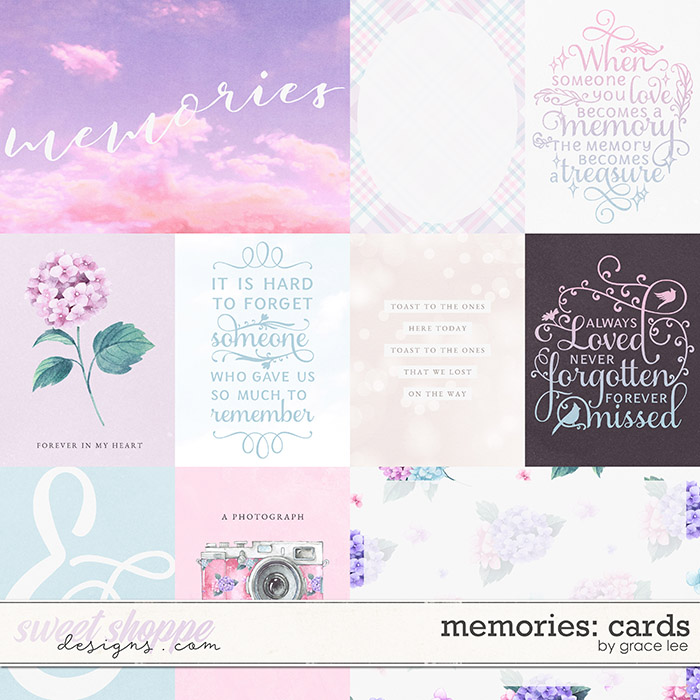 Memories: Cards by Grace Lee