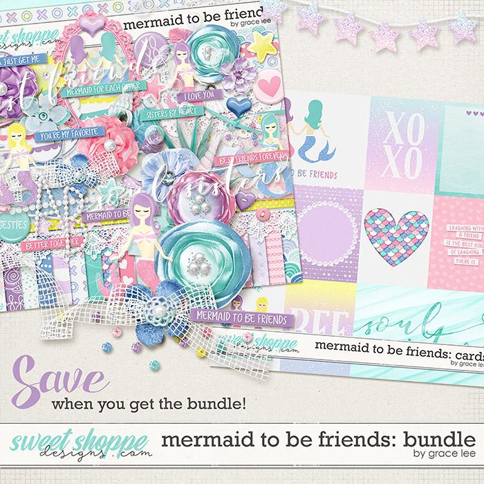 Mermaid To Be Friends: Bundle by Grace Lee