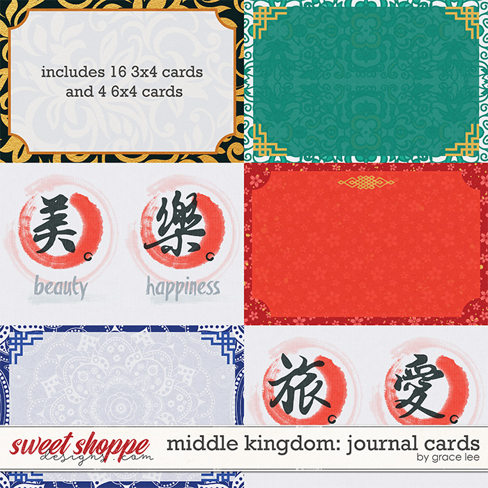 Middle Kingdom: Journal Cards by Grace Lee