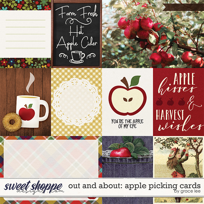 Out and About: Apple Picking Cards by Grace Lee