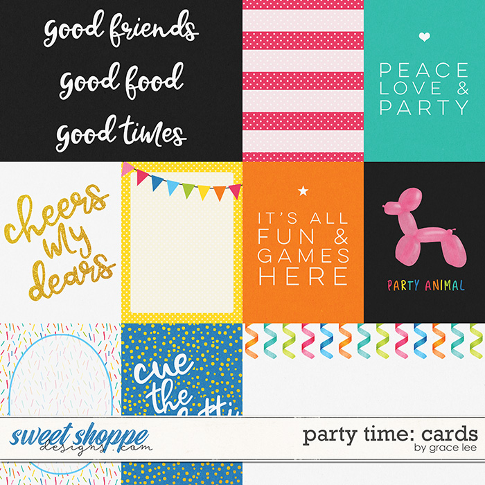 Party Time: Cards by Grace Lee