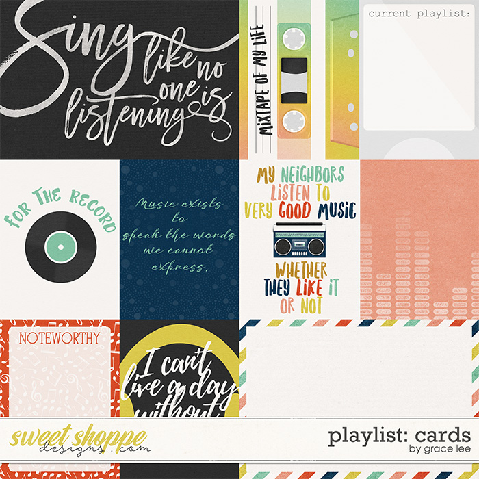 Playlist: Cards by Grace Lee