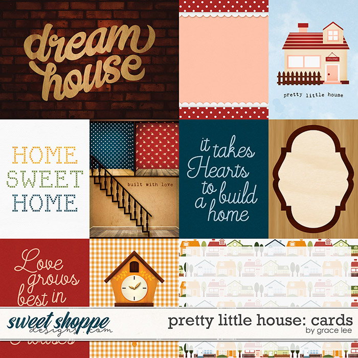 Pretty Little House: Cards by Grace Lee
