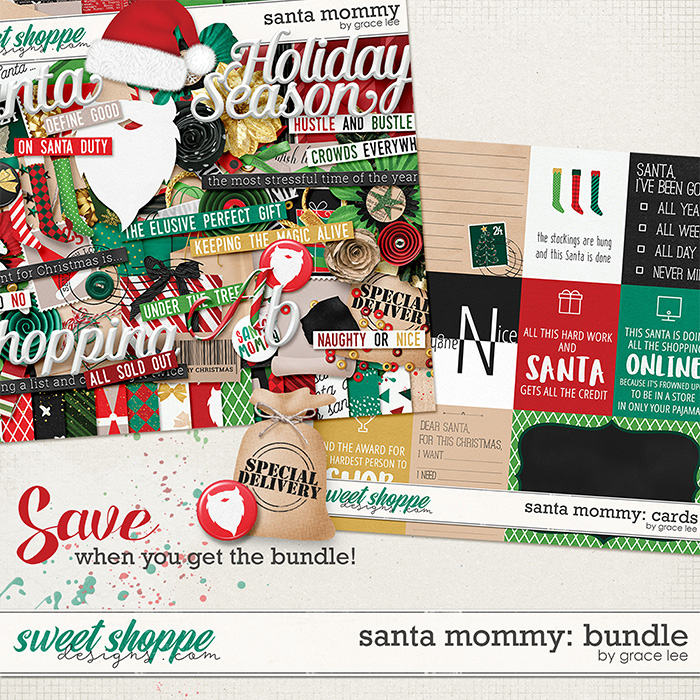 Santa Mommy: Bundle by Grace Lee