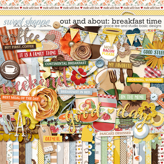 Out and About: Breakfast Time Kit by Grace Lee and Studio Basic Designs