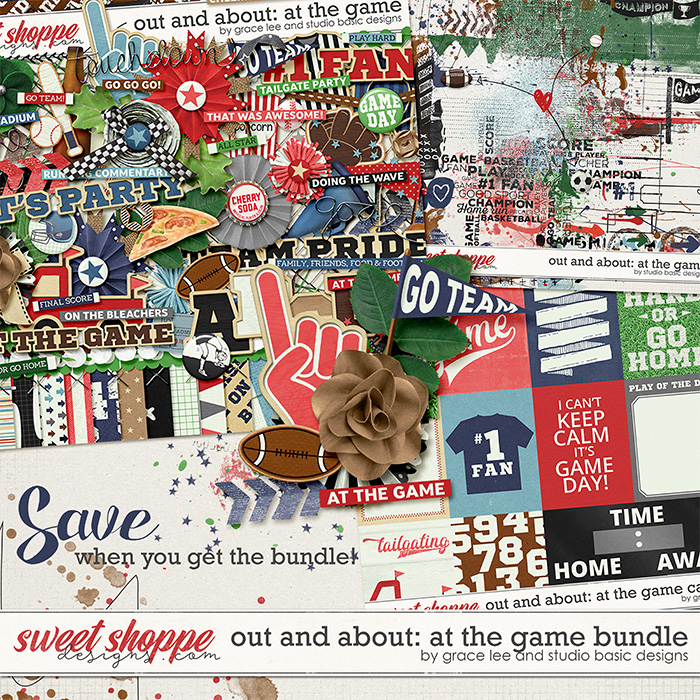 Out and About: At The Game Bundle by Grace Lee and Studio Basic