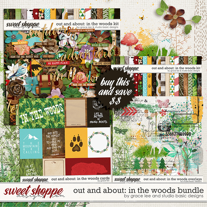 Out and About: In the Woods Bundle by Grace Lee and Studio Basic Designs