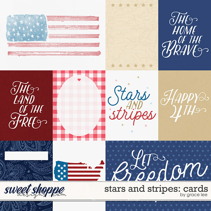 Stars and Stripes: Cards by Grace Lee