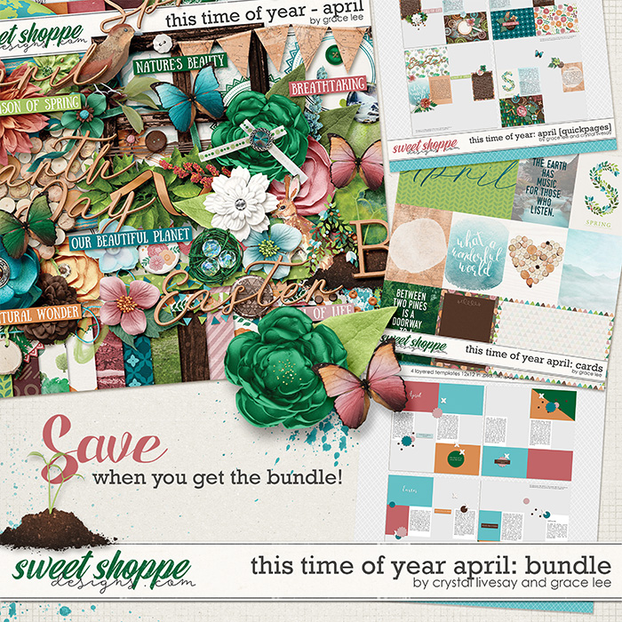 This Time of Year April: Bundle by Grace Lee and Crystal Livesay