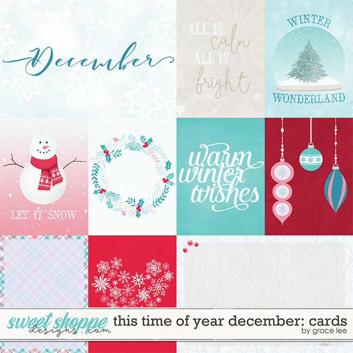This Time of Year December: Cards by Grace Lee