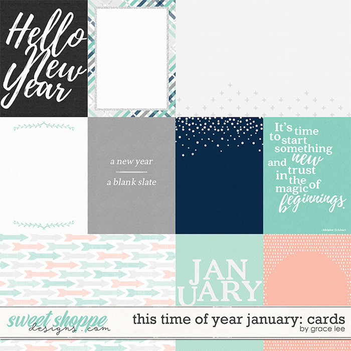 This Time of Year January: Cards by Grace Lee