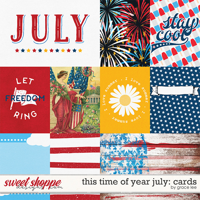 This Time of Year July: Cards by Grace Lee