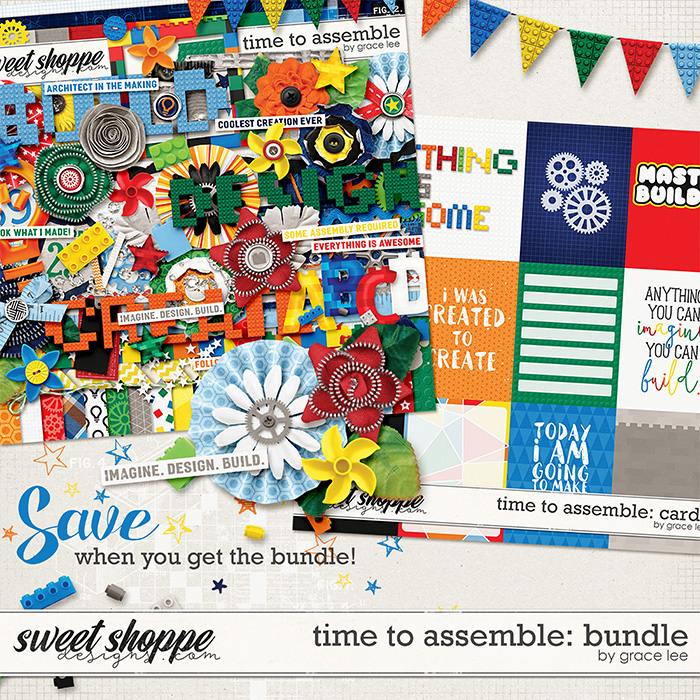 Time To Assemble: Bundle by Grace Lee