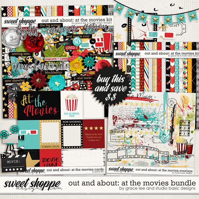 Out and About: At The Movies Bundle by Grace Lee and Studio Basic Designs