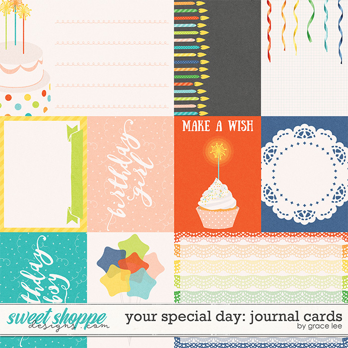 Your Special Day: Journal Cards by Grace Lee