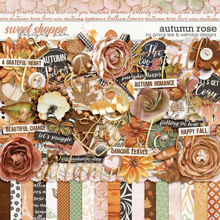 Autumn Rose by Grace Lee and WendyP Designs