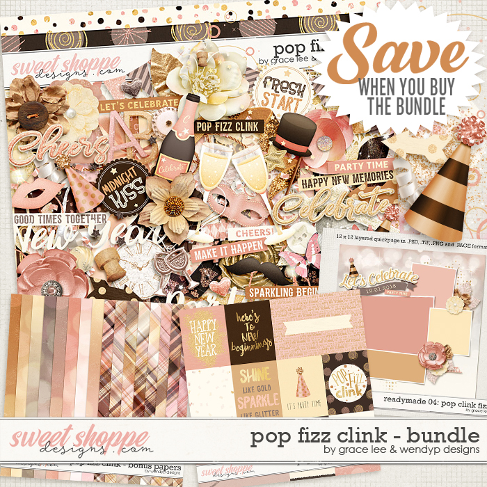 Pop Fizz Clink: Bundle by Grace Lee and WendyP Designs