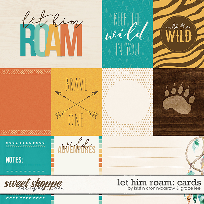 Let Him Roam: Cards by Grace Lee and Kristin Cronin-Barrow