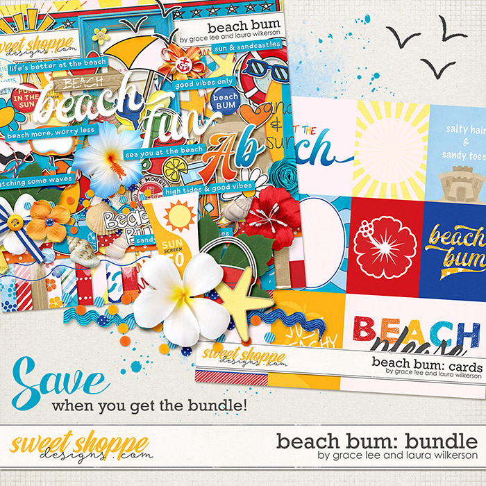 Beach Bum Bundle by Grace Lee and Laura Wilkerson