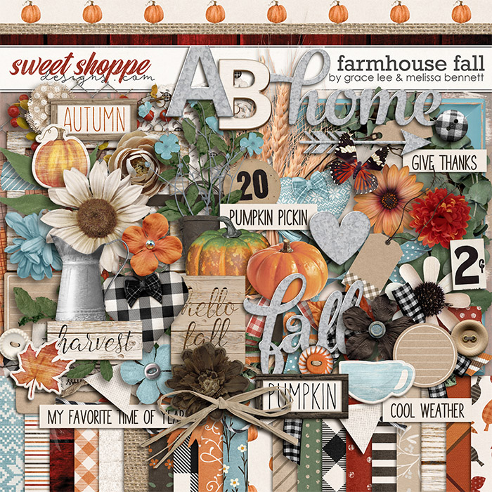 Farmhouse Fall by Grace Lee and Melissa Bennett