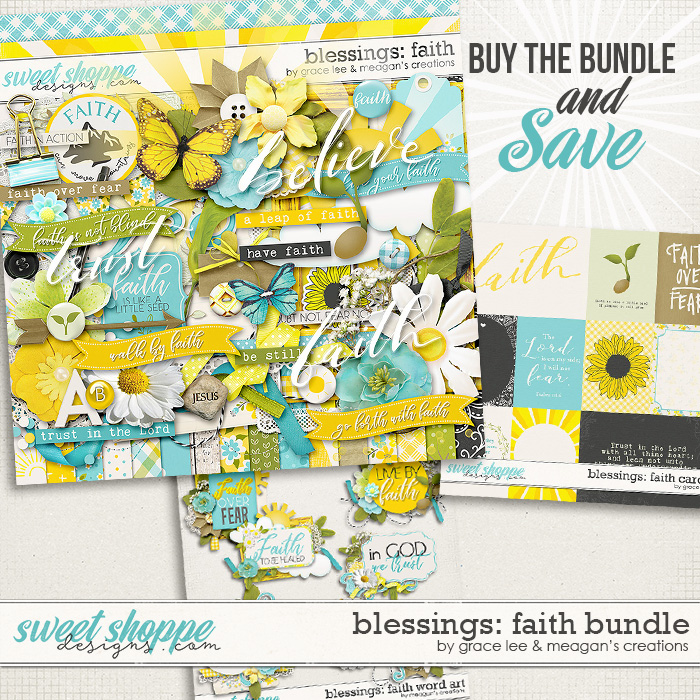 Blessings: Faith Bundle by Grace Lee and Meagan's Creations
