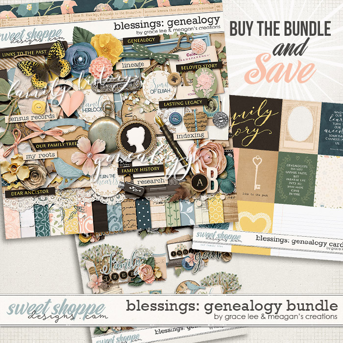 Blessings: Genealogy Bundle