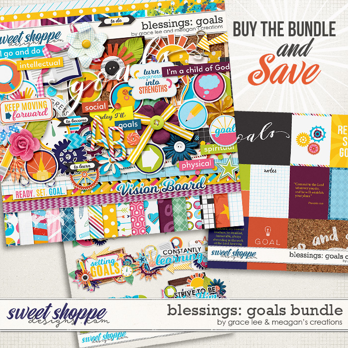 Blessings: Goals Bundle