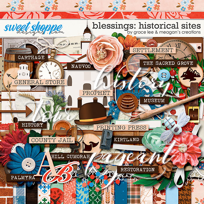 Blessings: Historical Sites by Grace Lee and Meagan's Creations