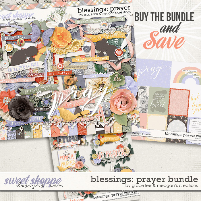 Blessings: Prayer Bundle by Grace Lee and Meagan's Creations