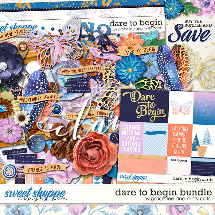 Dare to Begin Bundle by Grace Lee and Misty Cato