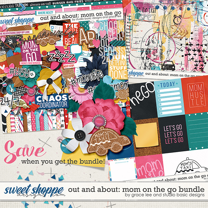 Out And About: Mom On The Go Bundle by Grace Lee and Studio Basic Designs