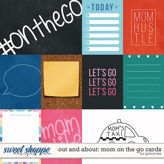 Out and About: Mom On The Go Cards by Grace Lee