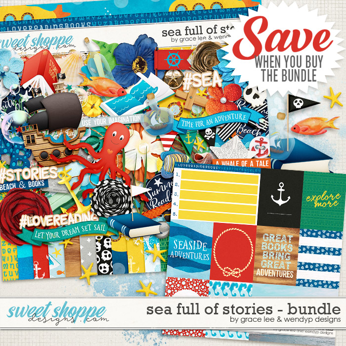 Sea Full of Stories: Bundle by Grace Lee and WendyP Designs