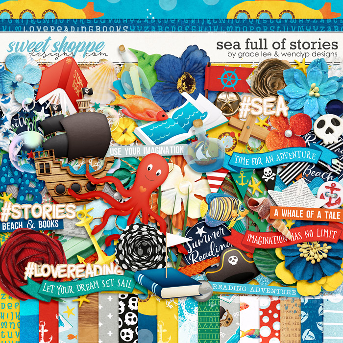 Sea Full of Stories by Grace Lee and WendyP Designs