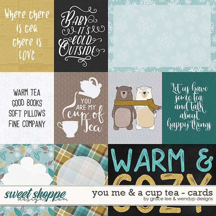 You Me And A Cup of Tea: Cards by Grace Lee and WendyP Designs
