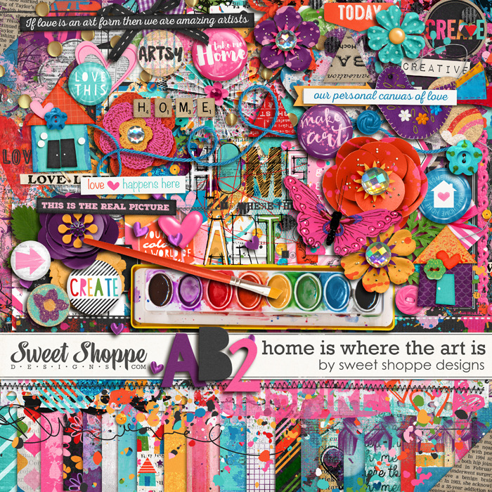 *FLASHBACK FINALE* Home Is Where The Art Is by Sweet Shoppe Designs