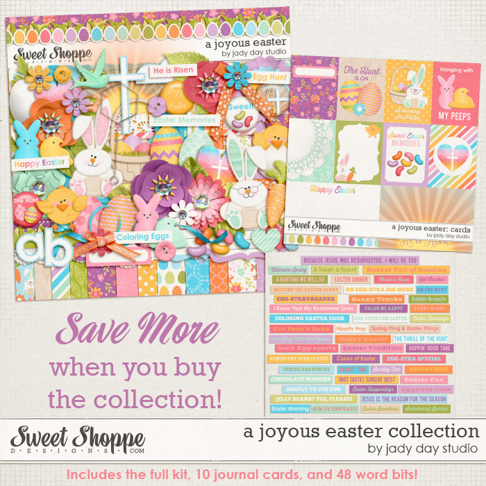 A Joyous Easter Collection by Jady Day Studio