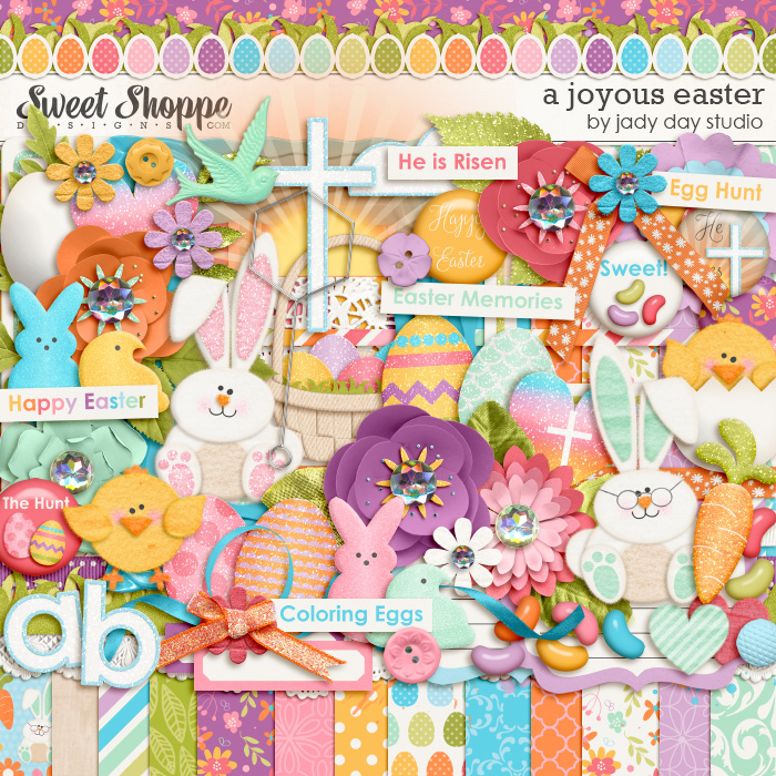 A Joyous Easter by Jady Day Studio