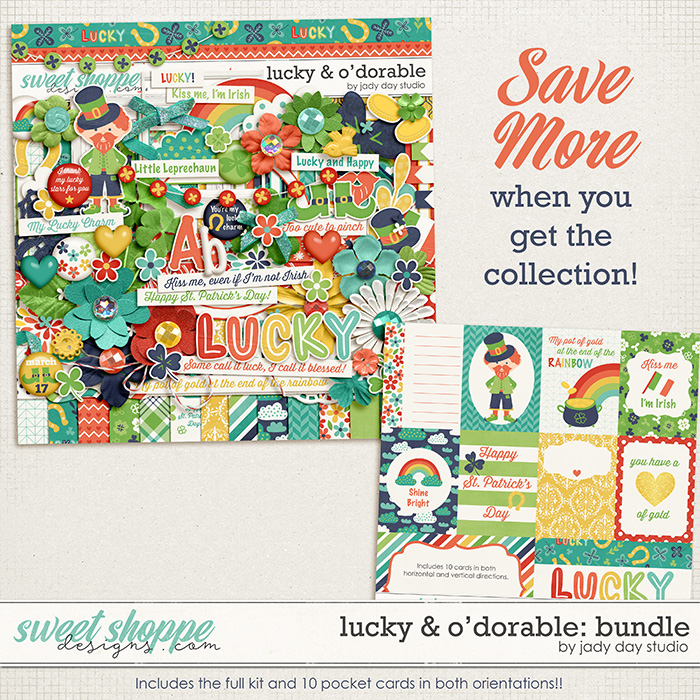 Lucky & O'dorable Bundle by Jady Day Studio