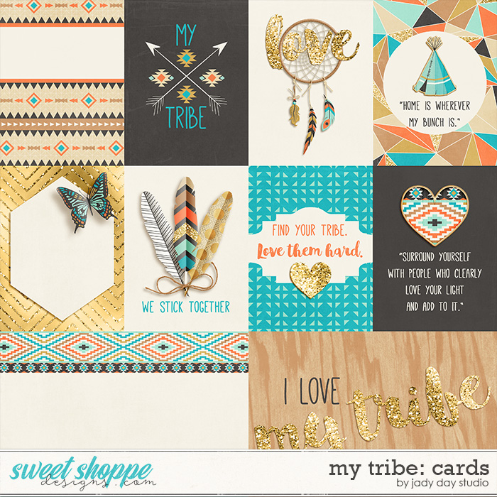 My Tribe: Cards by Jady Day Studio
