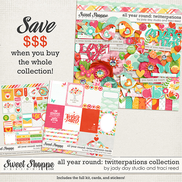 All Year Round: Twitterpations Collection by Traci Reed and Jady Day Studio